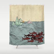 Paper Cranes Shower Curtain