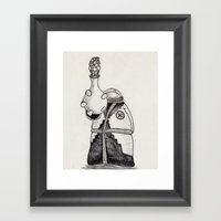 NuBlood Framed Art Print