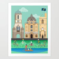 Oxford In Spring Art Print