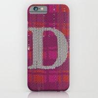 iPhone & iPod Case featuring Winter clothes. Letter D. by Studio Caravan