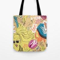 Pop Doodle Tote Bag