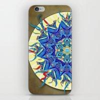 Smiling Mandala iPhone & iPod Skin