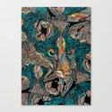 Fox (Feat. Bryan Gallardo) Canvas Print