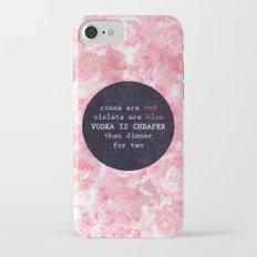 VODKA IS CHEAPER iPhone 7 Slim Case