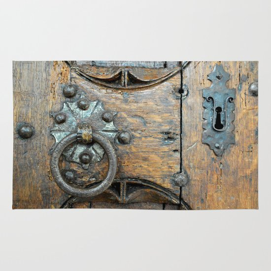 Church door Area & Throw Rug