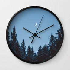 Crescent III Wall Clock