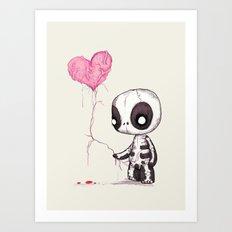Heart Strings  Art Print