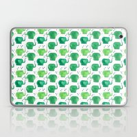 thousands of little green elephants Laptop & iPad Skin