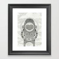 Ancestor Worship Framed Art Print