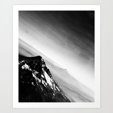 Oregon Mountains Art Print