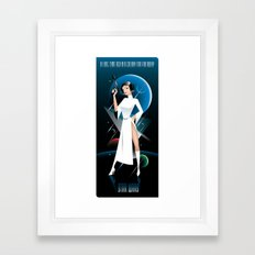 Star Wars-Leia Framed Art Print