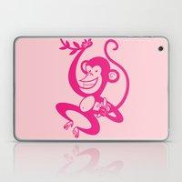 Pink Monkey Laptop & iPad Skin