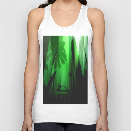 Deep in the rain forest. Unisex Tank Top
