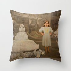 The First Real Top Throw Pillow
