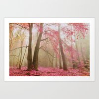 Atmospheric Autumn Art Print