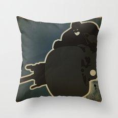 The Dark Knight: Batpod Throw Pillow