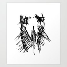 all can be sad Art Print