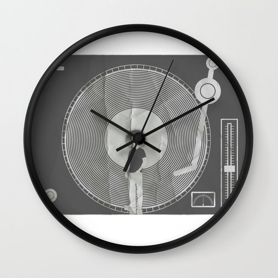 afro deck Wall Clock