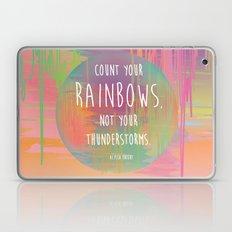 Count your Rainbows Laptop & iPad Skin