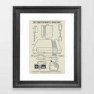 Entertainment System (li… Framed Art Print