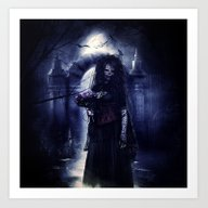 Living Dead Bride Art Print