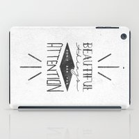 Beautiful Things Don't A… iPad Case