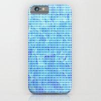 Pale Blue Dots iPhone 6 Slim Case