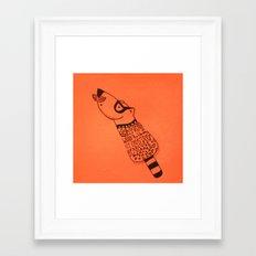 Would you like an ice cream Bear Framed Art Print