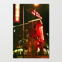 Hotel Ghost Canvas Print