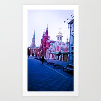 The Color Of The Infrast… Art Print