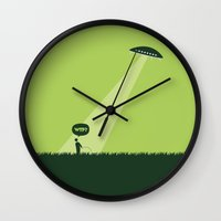 WTF? Ovni! Wall Clock