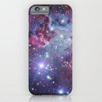 nebula iPhone & iPod Cases featuring Nebula Galaxy by RexLambo