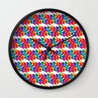 BP 85 Clover Wall Clock