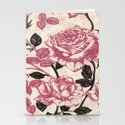 Toile de Jouy Rosas cálidas Stationery Cards