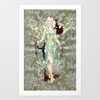 Daenerys Art Print