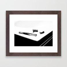Don't Drag Framed Art Print