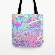 Galaxy Love. Tote Bag