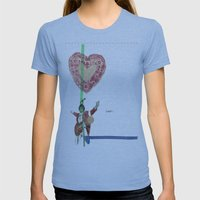 guess who Womens Fitted Tee Athletic Blue SMALL