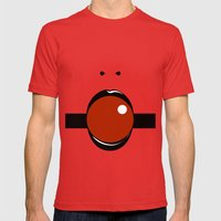 Geisha Mens Fitted Tee Red SMALL