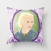 Hell on Wheels - Lily Bell Throw Pillow