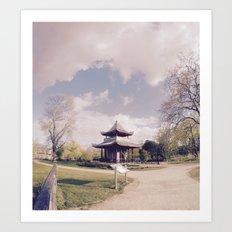 Victoria Park Pagoda Art Print