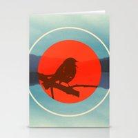 Bird Call Stationery Cards