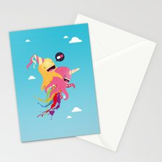 Poulpi et Licornet Stationery Cards
