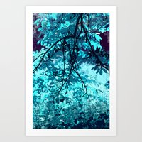 Forest Blues Art Print