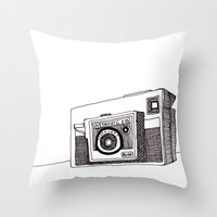 Instamatic X35 Throw Pillow