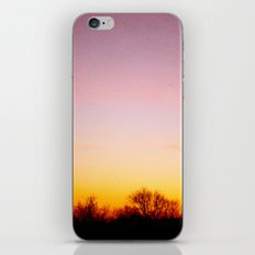 Rosey Morning Sky iPhone & iPod Skin