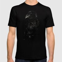 The Raven Mens Fitted Tee Black SMALL