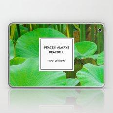 Peace Is Always Beautifu… Laptop & iPad Skin