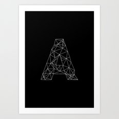 Adamas Art Print