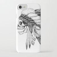 native american iPhone & iPod Cases featuring Native American by Motohiro NEZU